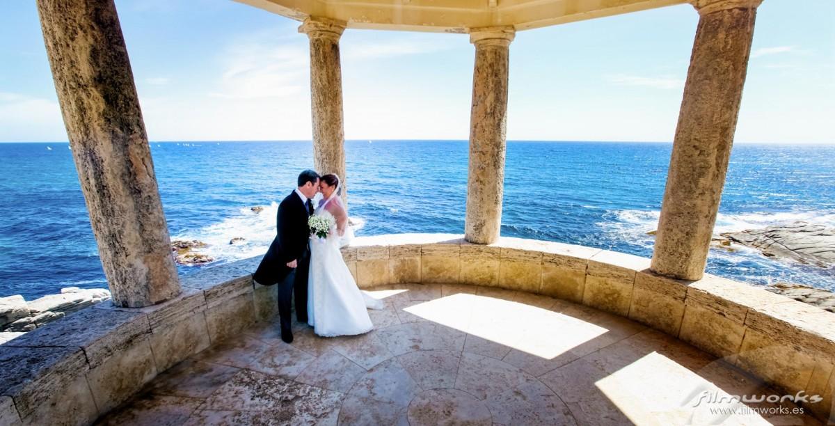 fotógrafo boda s'agaró