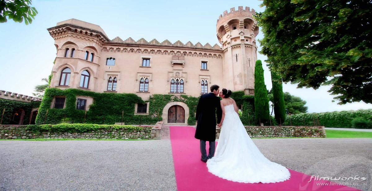 fotógrafo boda castell sant marçal