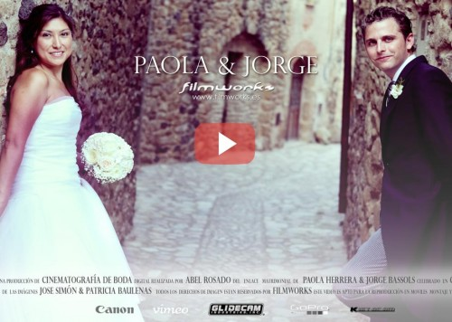 video boda castell empordà