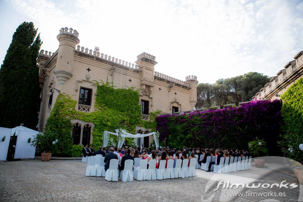 boda en Castell Jalpí