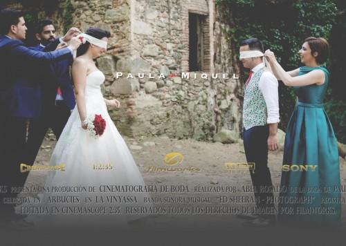 video la vinyassa, video de boda